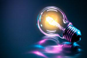 Ampoule de couleur