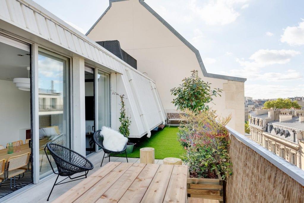 une terrasse pur codir