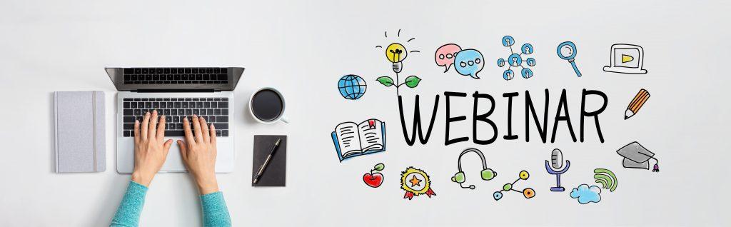 organiser un webinar